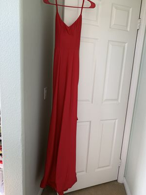 Red elegant dress size 0 for Sale in San Diego, CA