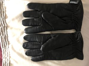 Guide Gear Men's Insulated Leather Gloves, Size: Large, Black for Sale in Brentwood, TN