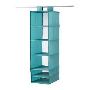 Cloth / Shoes Organizer With 6 Compartments, Light Blue for Sale in Tustin, CA