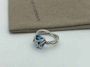David Yurman Blue Topaz Wrap Ring for Sale in Queens, NY