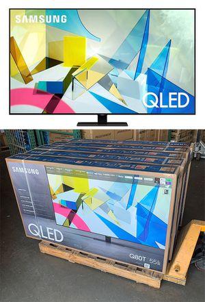 "New $950 Samsung 55"" Class QLED Q80T Series 4K UHD Direct Full Array 12x Quantum HDR 12x Smart TV for Sale in Pico Rivera, CA"