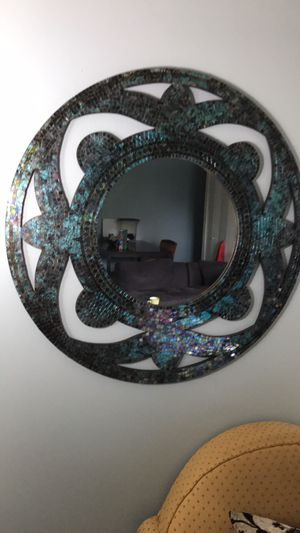 Round wall mirror. Mural based for Sale in Queens, NY