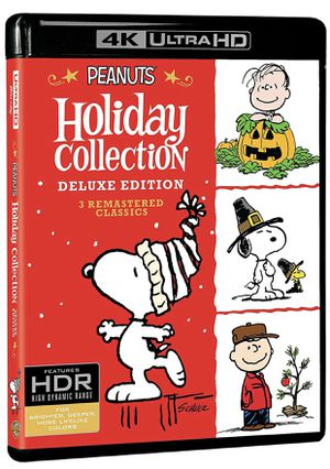 Peanuts Holiday Collection Snoopy 4K Ultra HD Blu-ray Digital Deluxe Edition for Sale in Los Angeles, CA