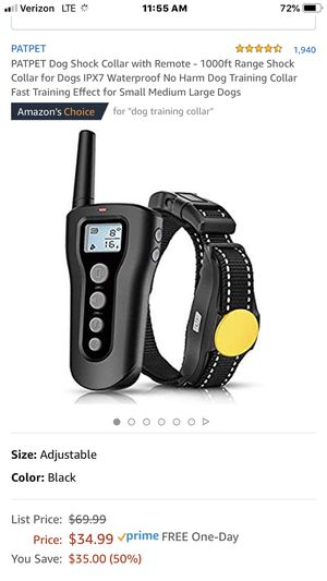 Dog Shock Collar with Remote for Sale in Fresno, CA