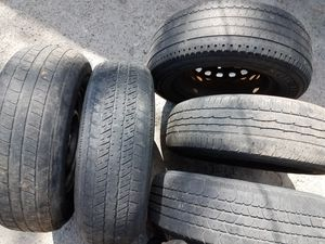 5 tires 205 70 14 for Pick up Toyota for Sale in San Diego, CA