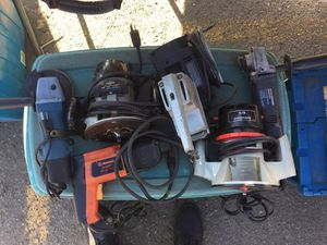Power tools selling everything 7 Pieces for Sale in Allen Park, MI