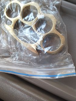 Real Brass Knuckles for Sale in Dallas,  TX