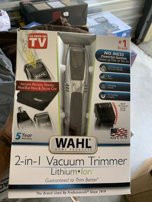 as seen on tv vacuum trimmer for Sale in Providence, RI