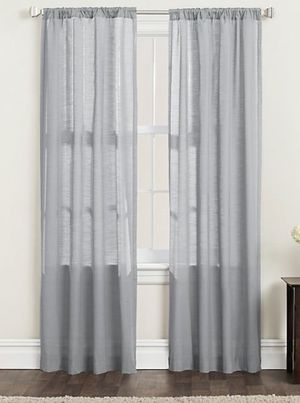 84inch light filtering curtains for Sale in Tucson, AZ