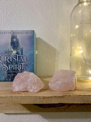 Rose Quartz Raw Healing Crystal (2) for Sale in Arcadia, CA
