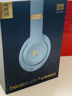 """"""" #Beats Studio3 Wireless Noise Cancellation #Over-Ear Headphones #Crystal Blue#"""" for Sale in Miami, FL"""