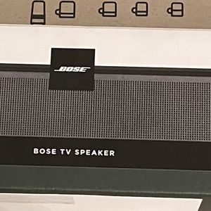BRAND New BOSE SPEAKER BLUETOOTH SOUND BAR WITH HDMI- Color Black Model # 83809-1100 for Sale in Santa Ana, CA