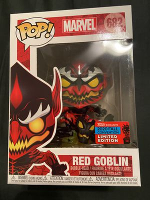 Shared 2020 fall convention Red Goblin funko POP for Sale in Gilbert, AZ