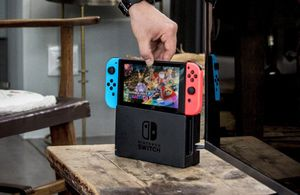 New Nintendo Switch with games for Sale in Detroit, MI