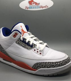 "Air Jordan 3 ""Knicks"" Size 10.5 for Sale in Apex,  NC"