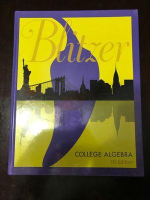 Blitzer College Algebra for Sale in Miami, FL