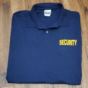 Security Golf Polo Shirt 3XL for Sale in Elk Grove, CA