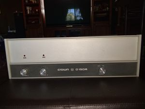 Crown D 150 A Amplifier vintage for Sale in Miami, FL