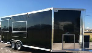 GLASS ANS SCREENS WITH FLIP UP CATERING TRAILER ja for Sale in Morgantown, WV