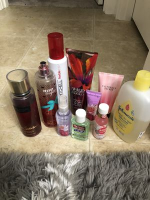 Lotions, body care, perfume, hair care for Sale in Tacoma, WA