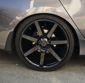 """20"""" Niche wheels gloss black rims for Sale in Hillsboro, OR"""