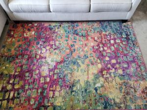 Rug & matching wall art(4'x3') for Sale in Dublin, CA