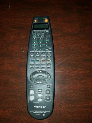 Pioneer A/V Remote Control for Sale in Madison, NJ