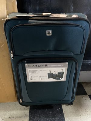 Skyline 5pc Luggage set for Sale in Houston, TX