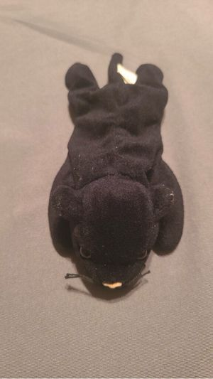 Ty beanie baby no tag on ear but one on leg Velvet the Panther for Sale in Manassas, VA