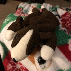 Ty Beanie Baby Bruno - Stuffed Animal Dog for Sale in Peachtree City, GA
