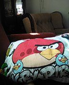 Angry Birds pillow for Sale in Drakesville, IA