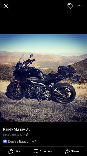 2016 Yamaha FJ09 Sport Touring motorcycle with 900cc class triple engine. Only 5240~ miles. I ride it daily, so mileage will change. She has ABS, tra for Sale in Silverdale, WA