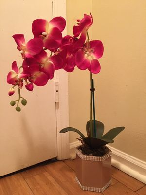 orchids artificial flowers real touch for Sale in Norcross, GA