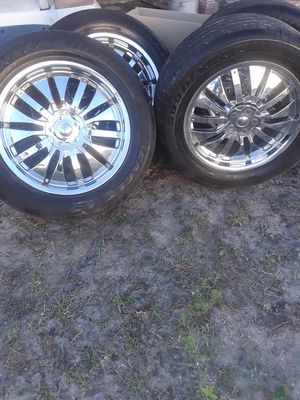 18 inch rims and tires came off Ford Explorer for Sale in Port St. Lucie, FL