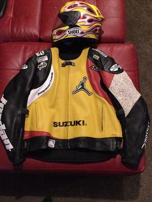 Joe Rocket Suzuki Jordan motorcycle jacket Sz 52 or XXL for Sale in Pelham, NH
