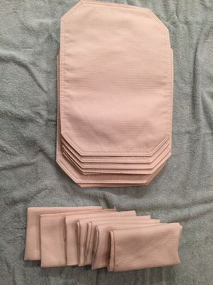 Tan Napkins and Placemats for Sale in Vancouver, WA