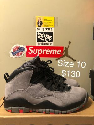 10's Cool Grey, Size 10 $130 for Sale in Hyattsville, MD