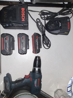 Bosch 18 vold cordless set for Sale in Monroe, WA