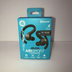 earbuds headphones jlab jbuds air sport true wireless for Sale in Houston, TX