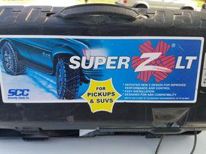Shur Grip Super Z LT Tire Chains for Pickups & SUVs for Sale in Centreville, VA