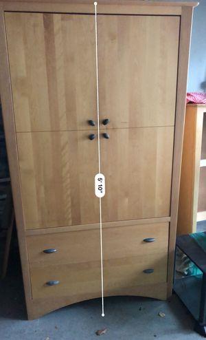 Matching set- armoire, bookshelf, nightstand, dresser for Sale in Vallejo, CA