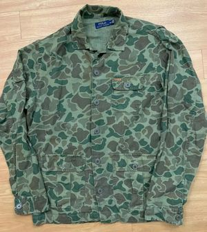 R L Polo Camo Shirt Jacket Size L for Sale in Philadelphia, PA