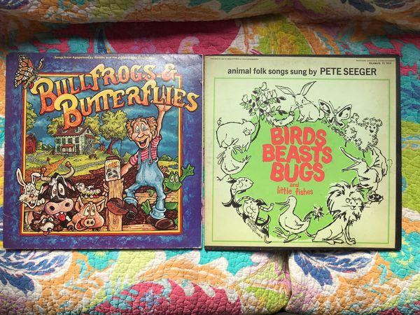14 Rare, Vintage Children's Albums