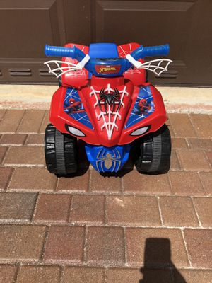 Spiderman car with battery for Sale in FL, US