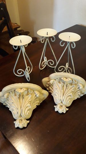 Candle holders wall shelves for Sale in San Diego, CA