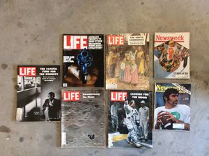 Old Life Magazines in good shape. Lots of history and good reading. for Sale in Canvas, WV