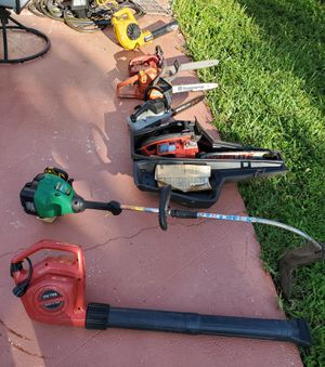 CLEANING OUT MY SHED AS IS BLOWERS WORK EVERYTHING ELSE NEEDS WORK MAKE OFFER for Sale in Boca Raton, FL