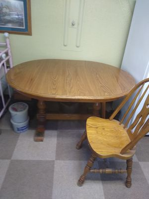 Table and chairs for Sale in Rapid City, SD