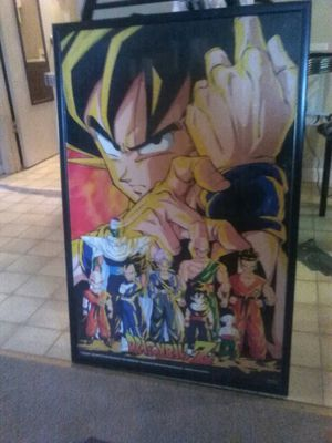 Dragen ball z poster for Sale in Apex, NC