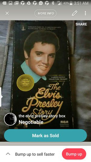 Elvis Presley set for Sale in Pittsburgh, PA